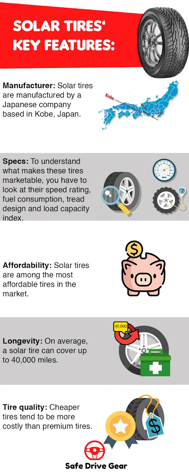who makes solar tires
