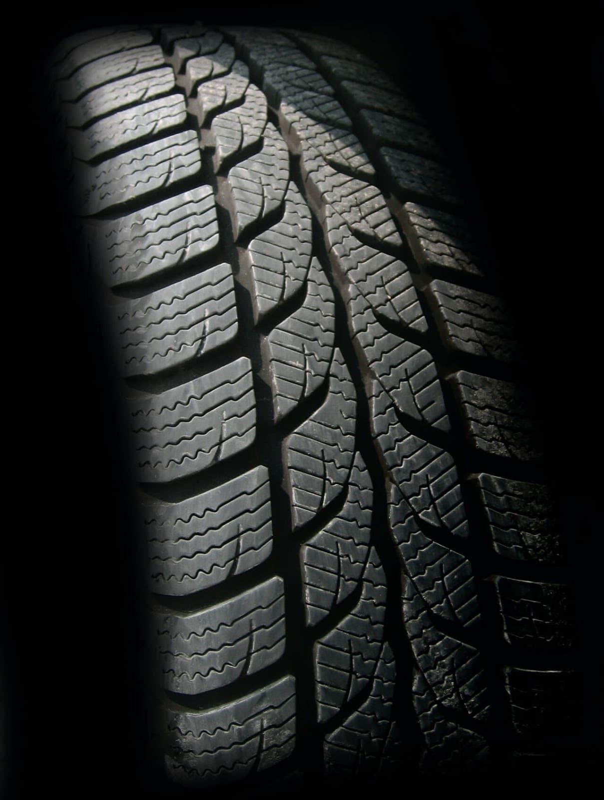 Tire closeup 1